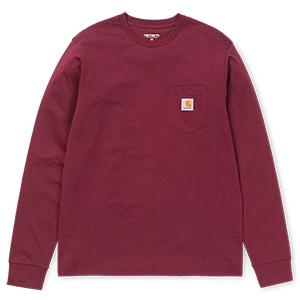 Carhartt Pocket Longsleeve T-Shirt Chianti