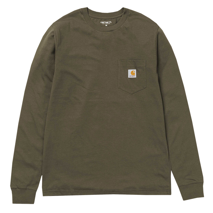 Carhartt Pocket Longsleeve T-Shirt Cypress