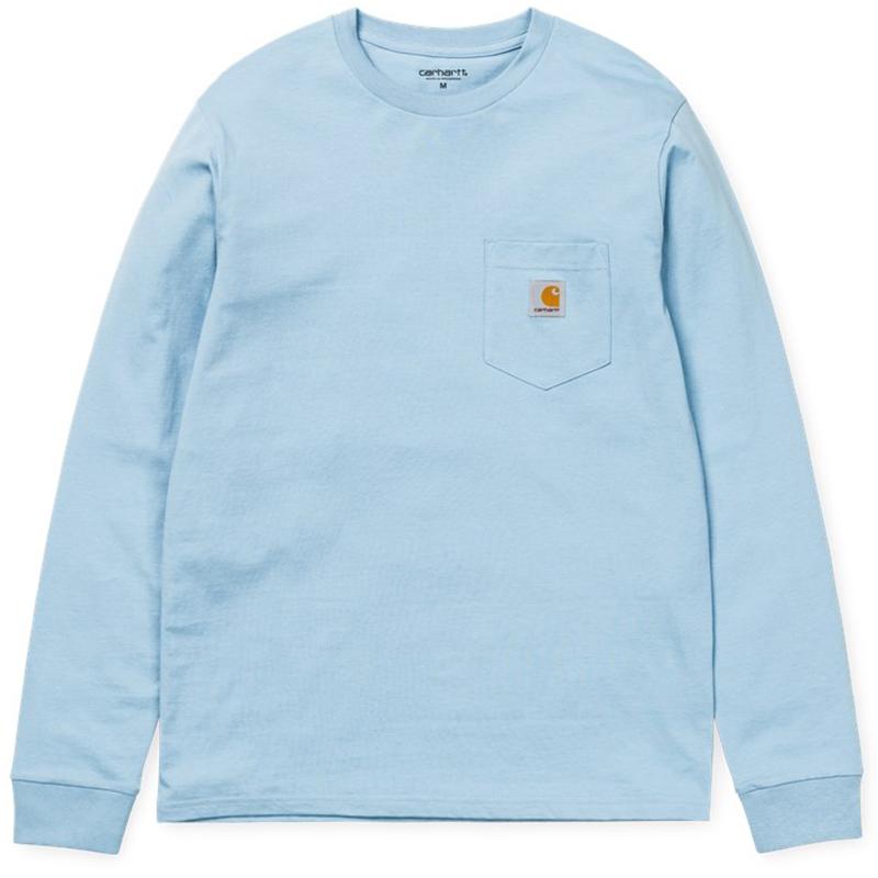 Carhartt Pocket Longsleeve T-Shirt Glacier