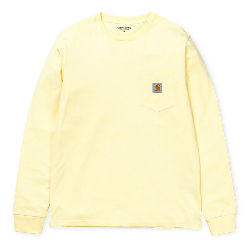Carhartt Pocket Longsleeve T-Shirt Lion
