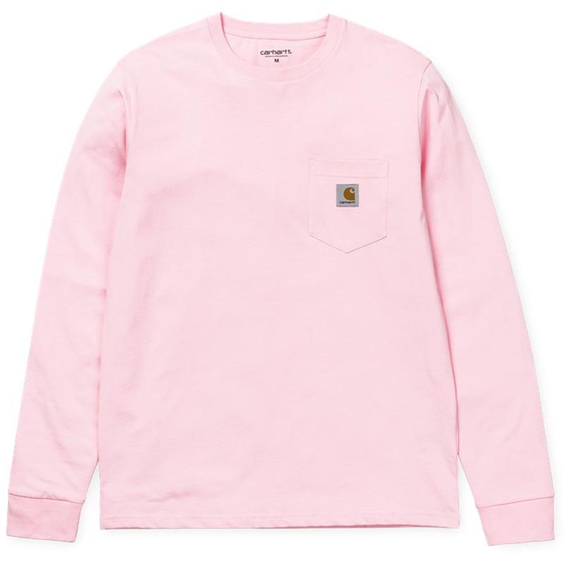 Carhartt Pocket Longsleeve T-Shirt Vegas Pink