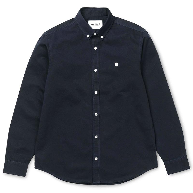 Carhartt WIP Madison Shirt Dark Navy/Wax