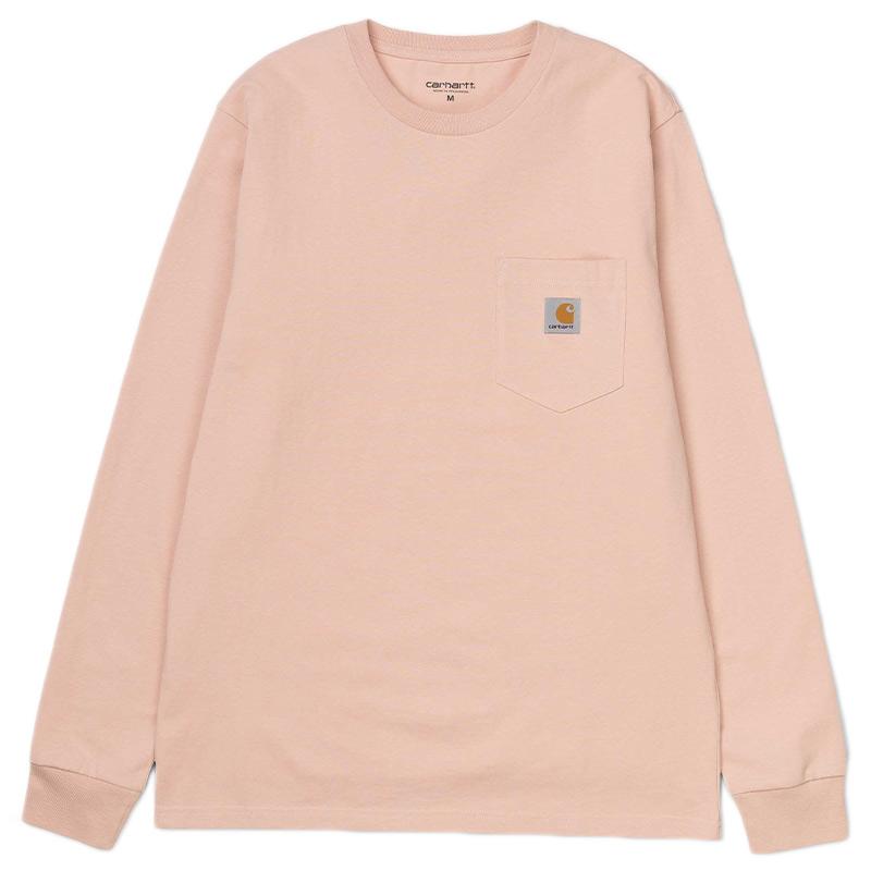 Carhartt WIP Pocket Longsleeve T-Shirt Powdery