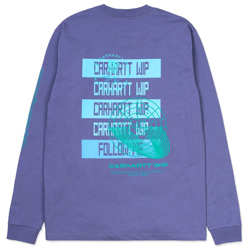 Carhartt WIP Remix Longsleeve T-Shirt Cold Viola