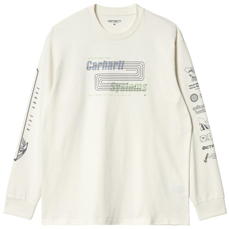 Carhartt WIP Systems Longsleeve T-Shirt Wax