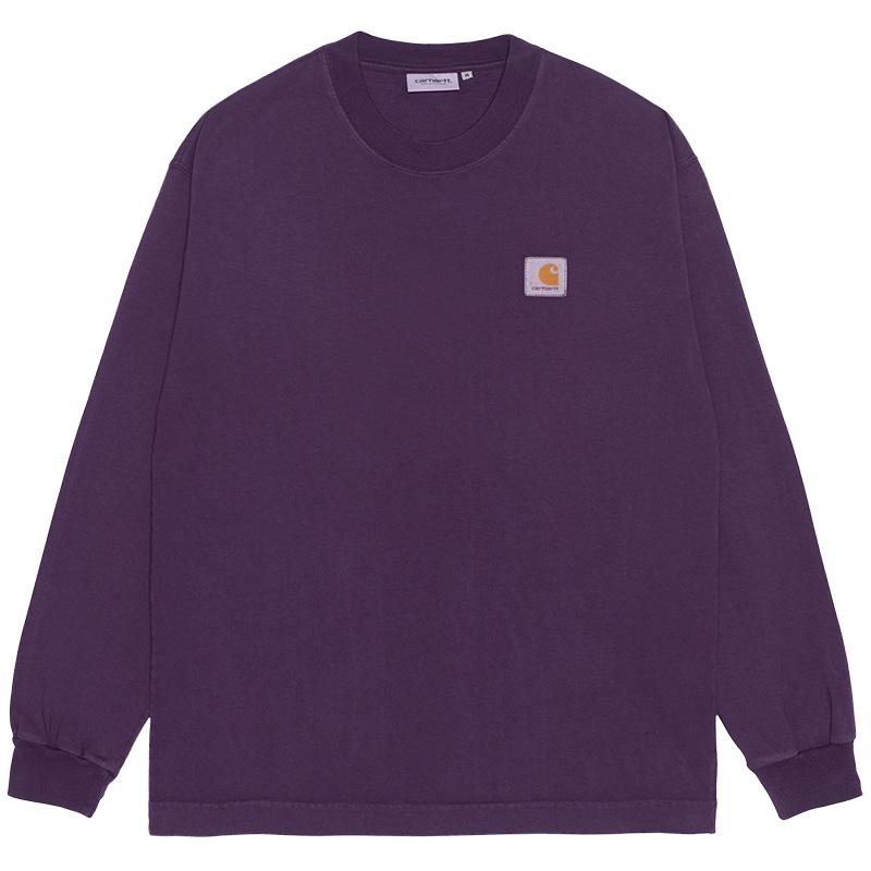 Carhartt WIP Vista Longsleeve T-Shirt Dark Iris