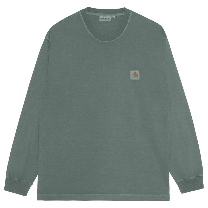 Carhartt WIP Vista Longsleeve T-Shirt Eucalyptus