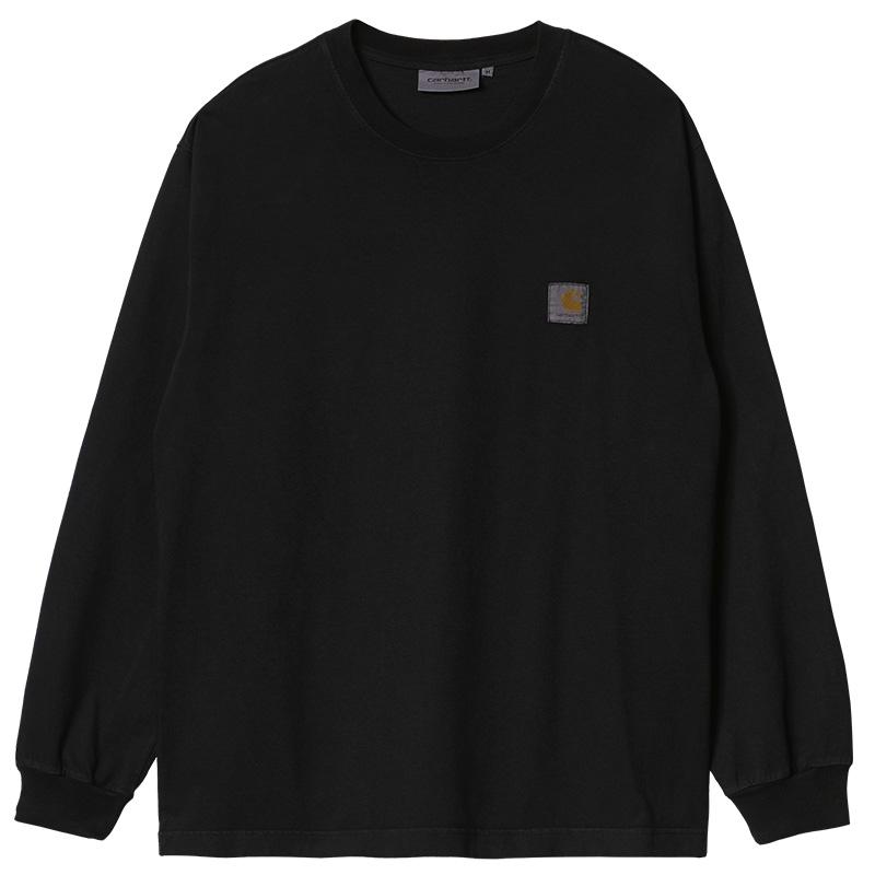 Carhartt WIP Vista Longsleeve T-Shirt Soot