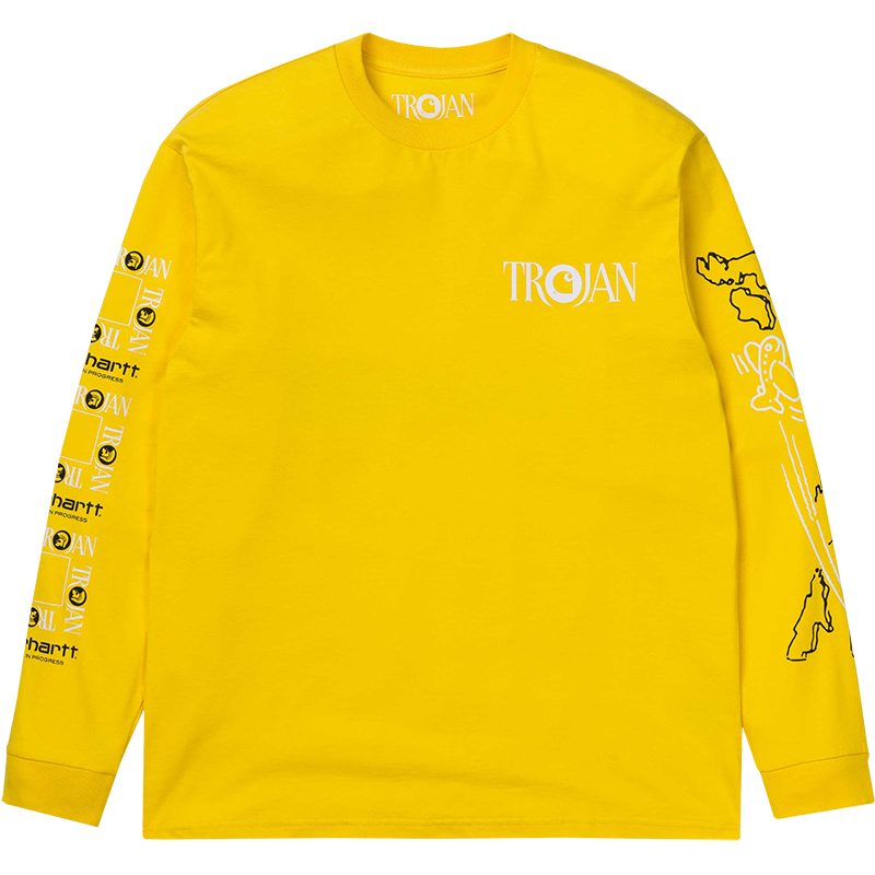 Carhartt x Trojan Records Boss Sounds Longsleeve T-Shirt Yellow