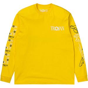 Carhartt x Trojan Records Boss Sounds Longsleeve T-Shirt Yellow