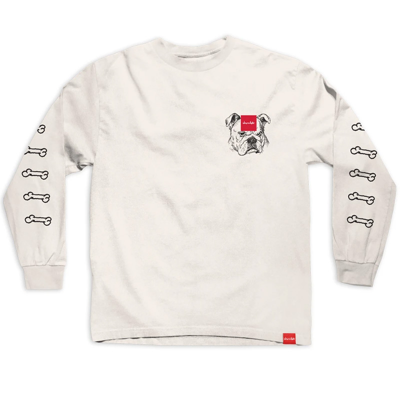 Chocolate Big Dawg Longsleeve T-Shirt Cream