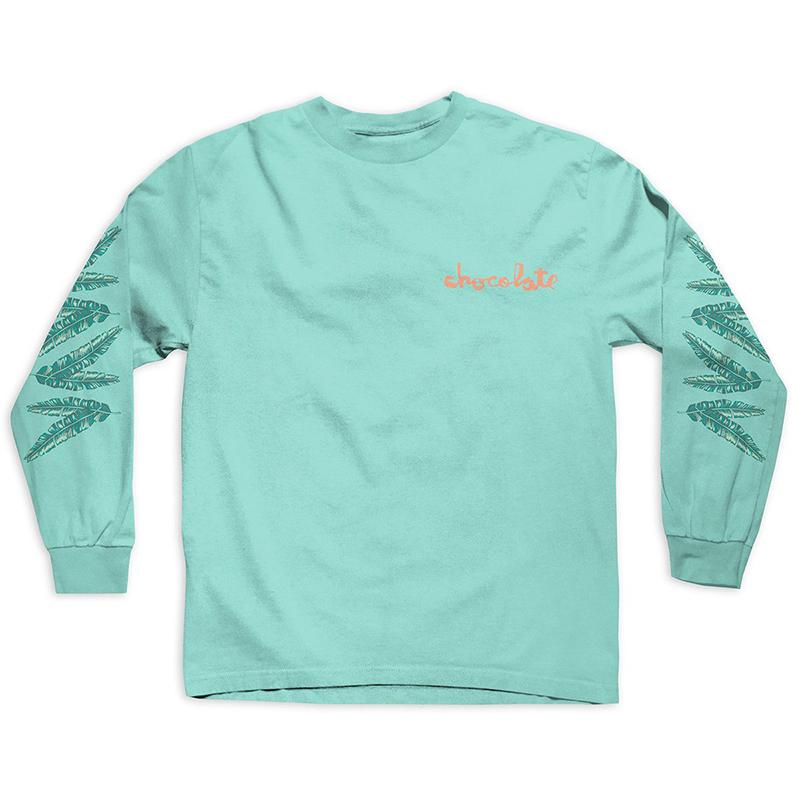 Chocolate Tropicalia Longsleeve T-Shirt Celadon