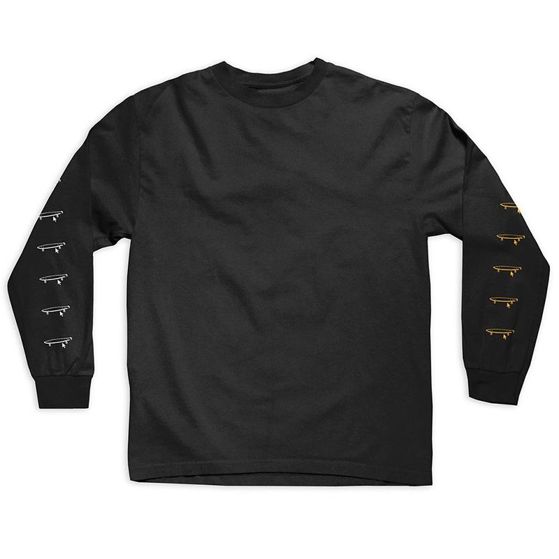 Crailtap Taptoo Longsleeve T-shirt Black