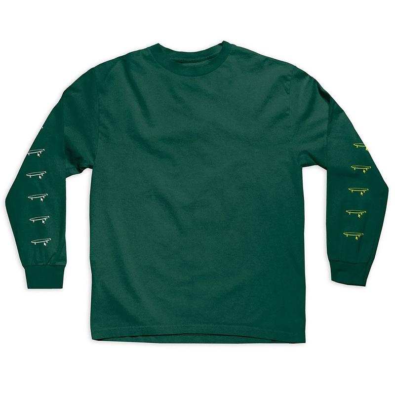Crailtap Taptoo Longsleeve T-shirt Forest