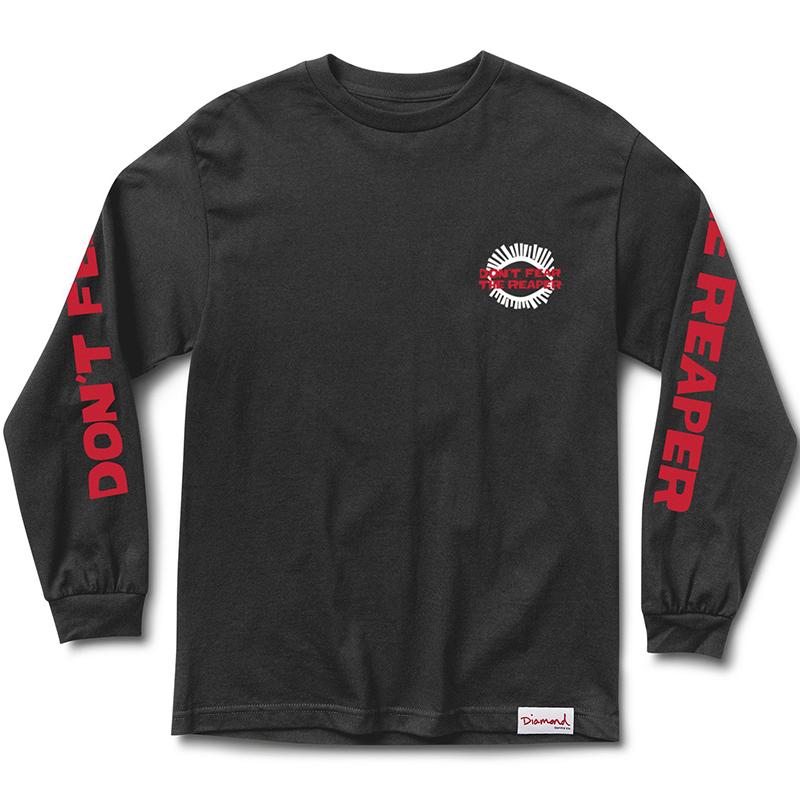Diamond Reaper Longsleeve T-Shirt Black