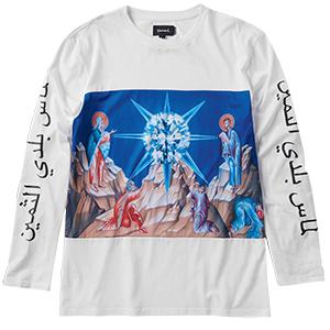 Diamond Savior Longsleeve T-Shirt White