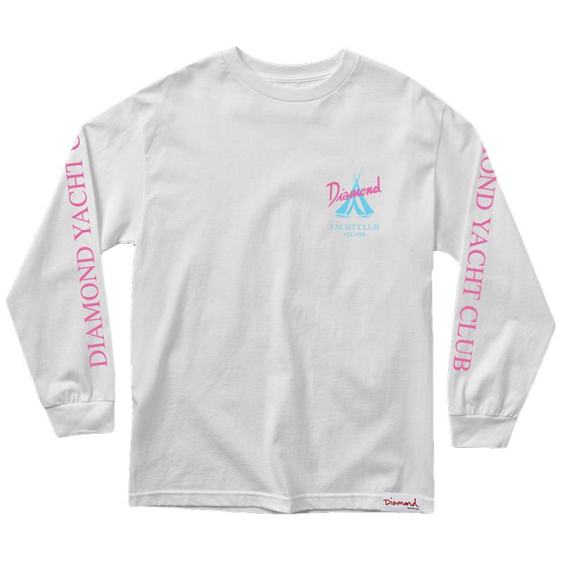 Diamond Voyage Longsleeve T-Shirt White