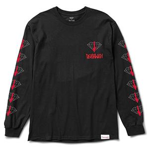 Diamond X Deathwish Longsleeve T-shirt Black