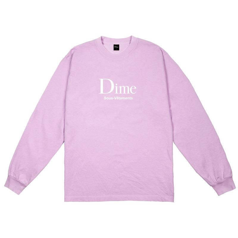Dime Sous-Vetements Longsleeve T-Shirt Mauve