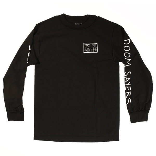Doom Sayers Inside Out Snake Shake Longsleeve T-Shirt Black