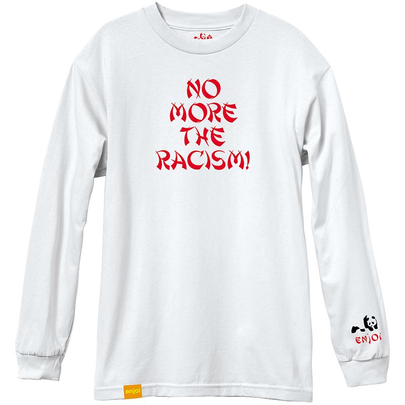 enjoi No More Longsleeve T-Shirt White