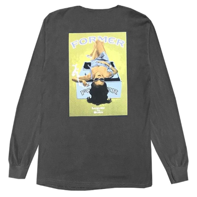 Former Lux To Burn Longsleeve T-Shirt Pepper/gold