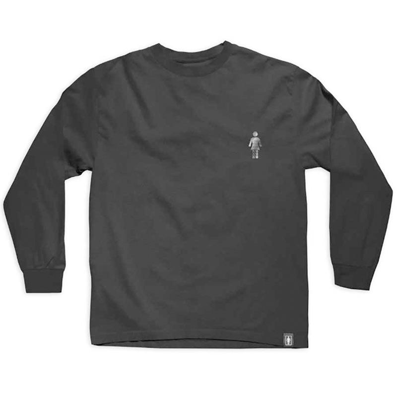 Girl Dot OG Longsleeve T-Shirt Black