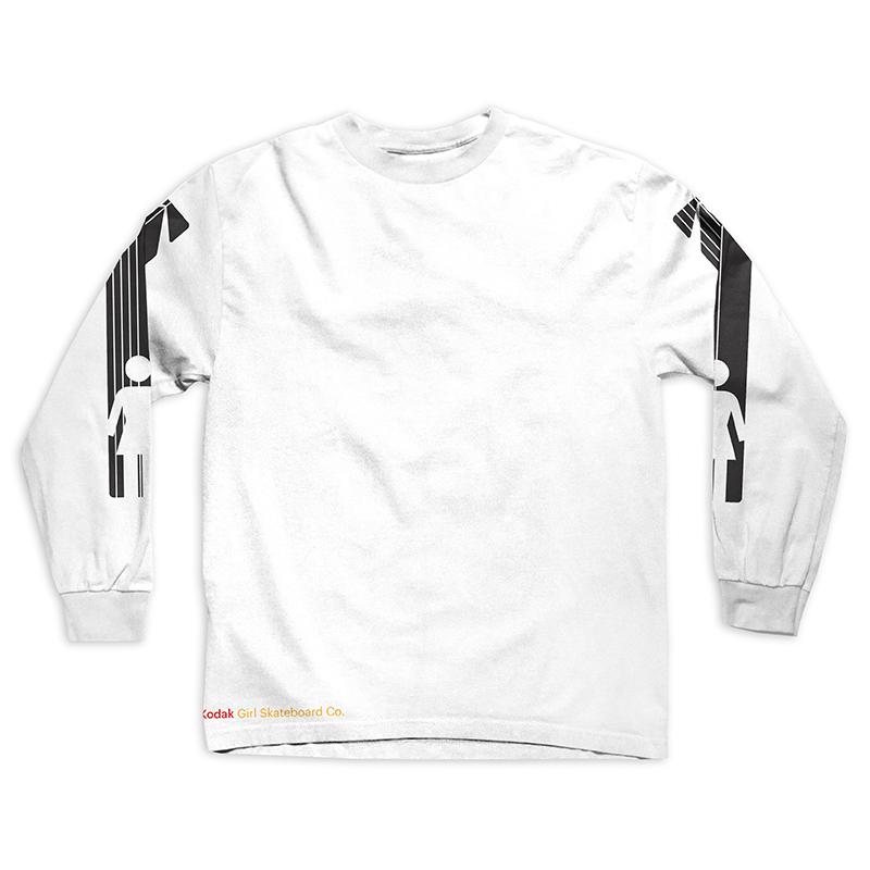 Girl Kodak Heritage Longsleeve T-Shirt White