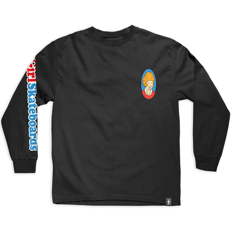 Girl Orphan Longsleeve T-Shirt Black