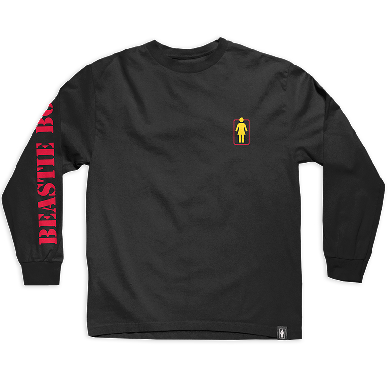 Girl x Beastie Boys Branded Longsleeve T-Shirt Black