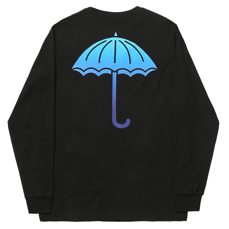 Helas Degrade Longsleeve T-Shirt Black