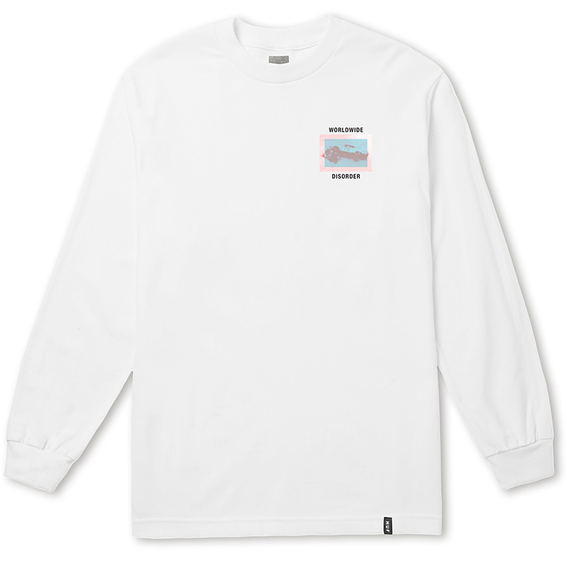 HUF Above Hell Longsleeve T-shirt White