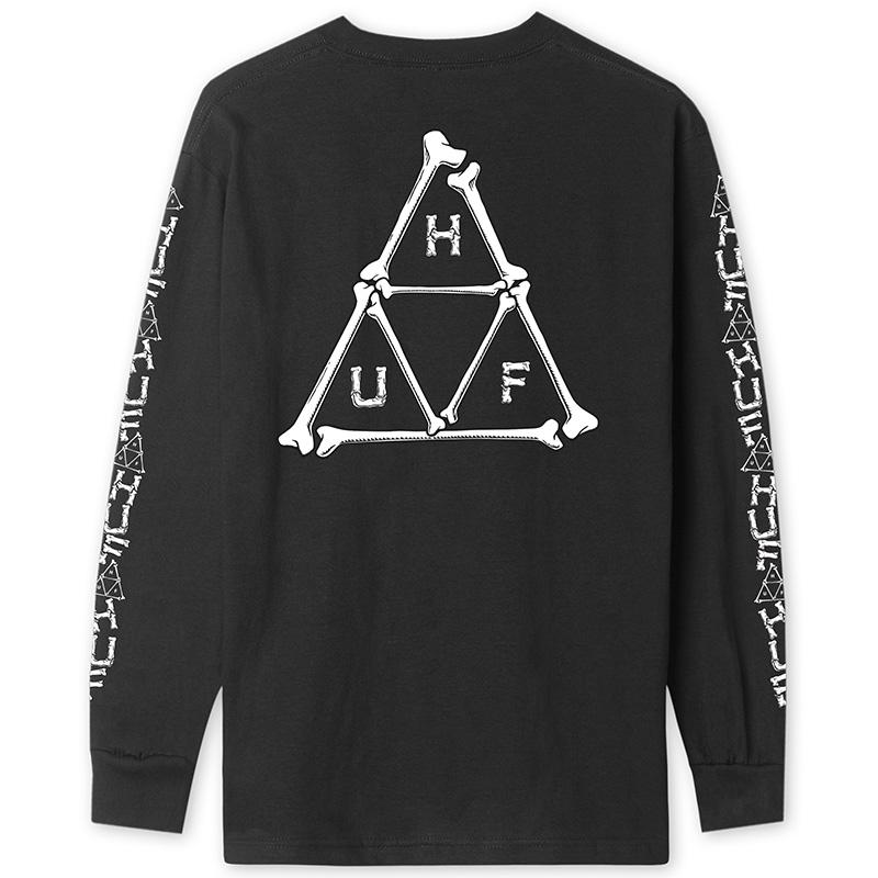 HUF Boner TT Longsleeve T-Shirt Black