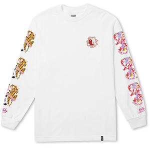 HUF Chloe K Yin-Yang Longsleeve T-shirt White