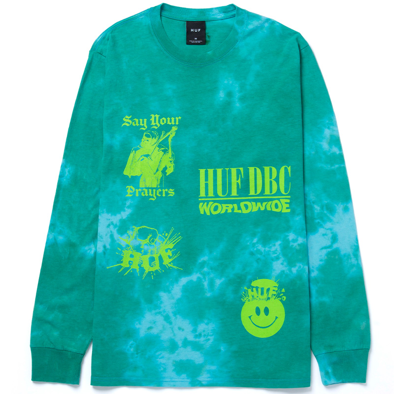 HUF Disorder Longsleeve T-Shirt Blue
