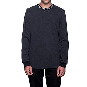 HUF Downhill Stripe Longsleeve T-Shirt Black