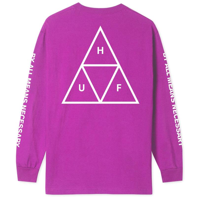 HUF Essentials Tt Longsleeve T-Shirt Sangria