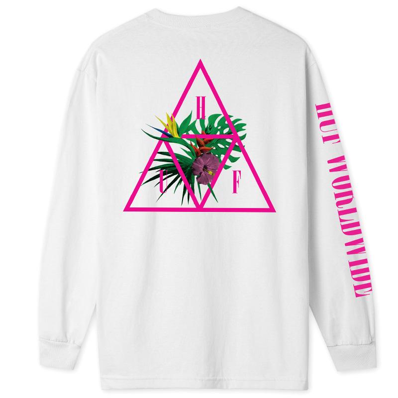 HUF Jungle TT Longsleeve T-Shirt White
