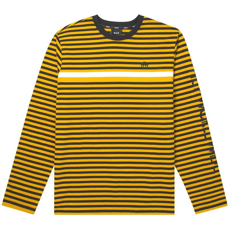 HUF Morris Longsleeve Knit Top Shirt Sauterne