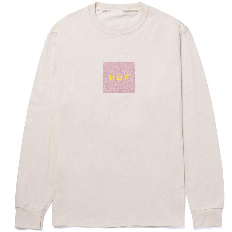HUF Quake Logo Longsleeve T-Shirt Natural