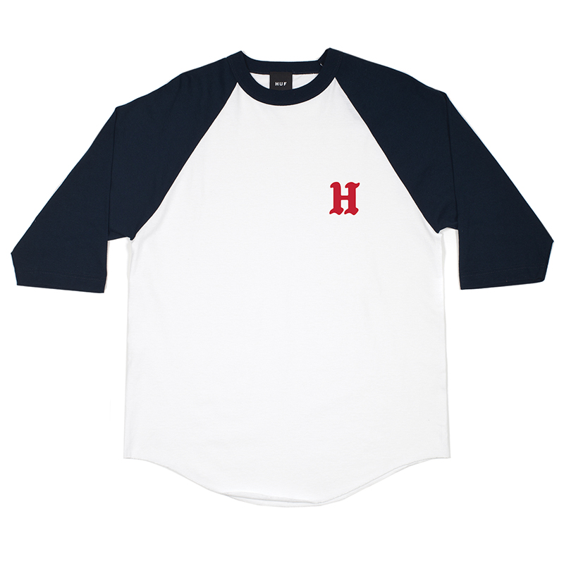 HUF Rockers Raglan T-shirt White/Navy