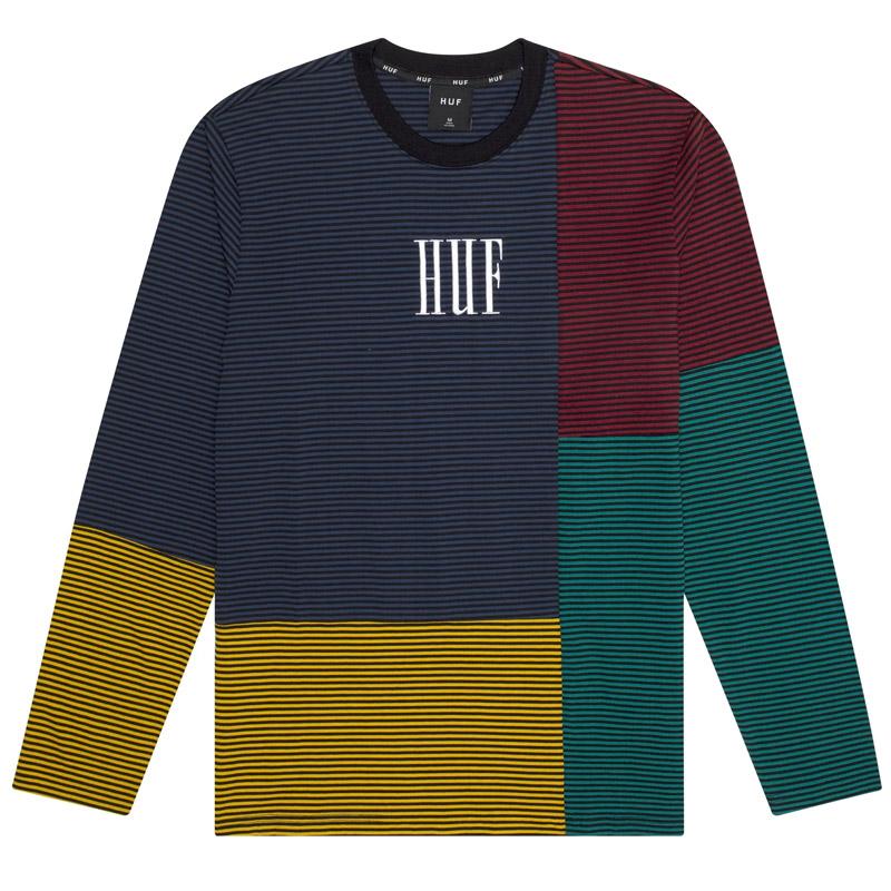 HUF Vilmos Stripe Shirt Insignia Blue