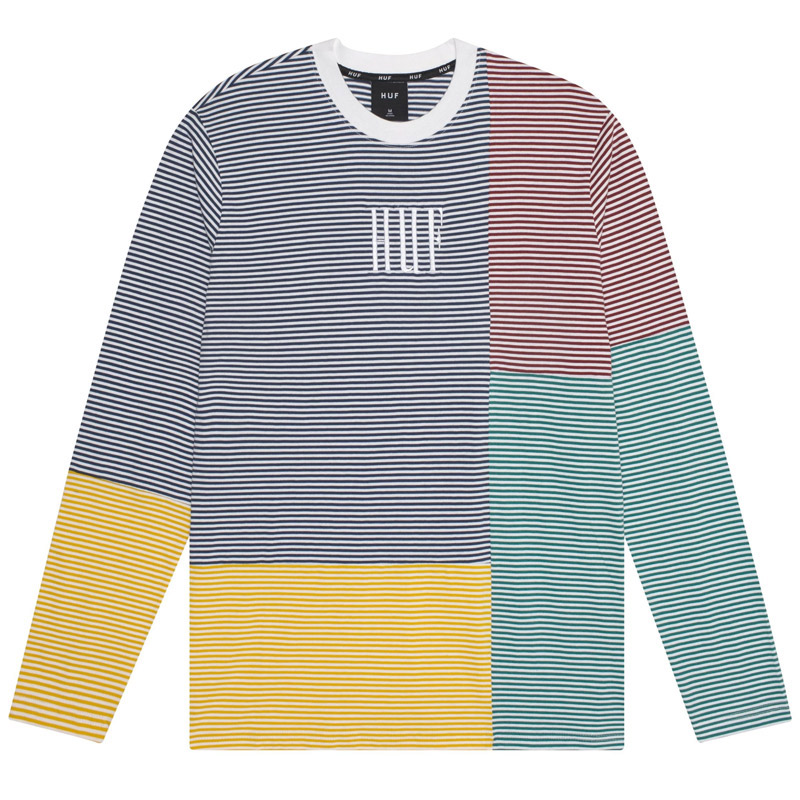 HUF Vilmos Stripe Shirt White