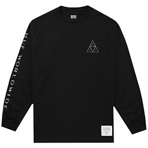 HUF X Budweiser Triangle Longsleeve T-Shirt Black