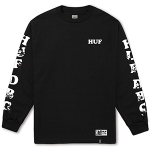 HUF X Felix The Cat Huf Dbc Longsleeve T-shirt Black