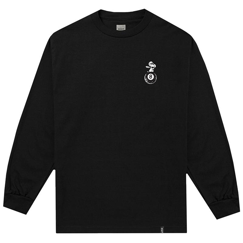 HUF X Peanuts Flying Ace Longsleeve T-Shirt Black
