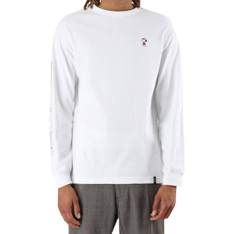 HUF X Peanuts Joe Cool TT Longsleeve T-Shirt White