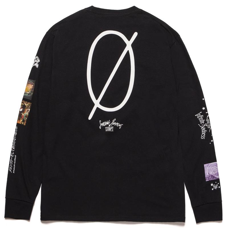 HUF X Smashing Pumpkins Bullet Longsleeve T-Shirt Black