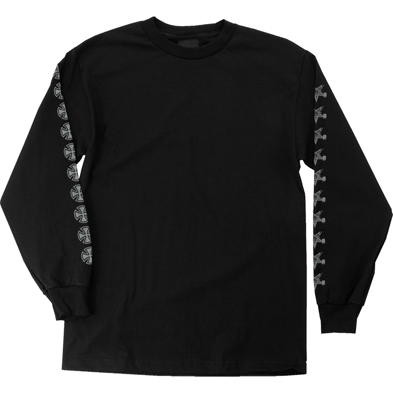 Independent x Thrasher Pentagram Cross Longsleeve T-shirt Black