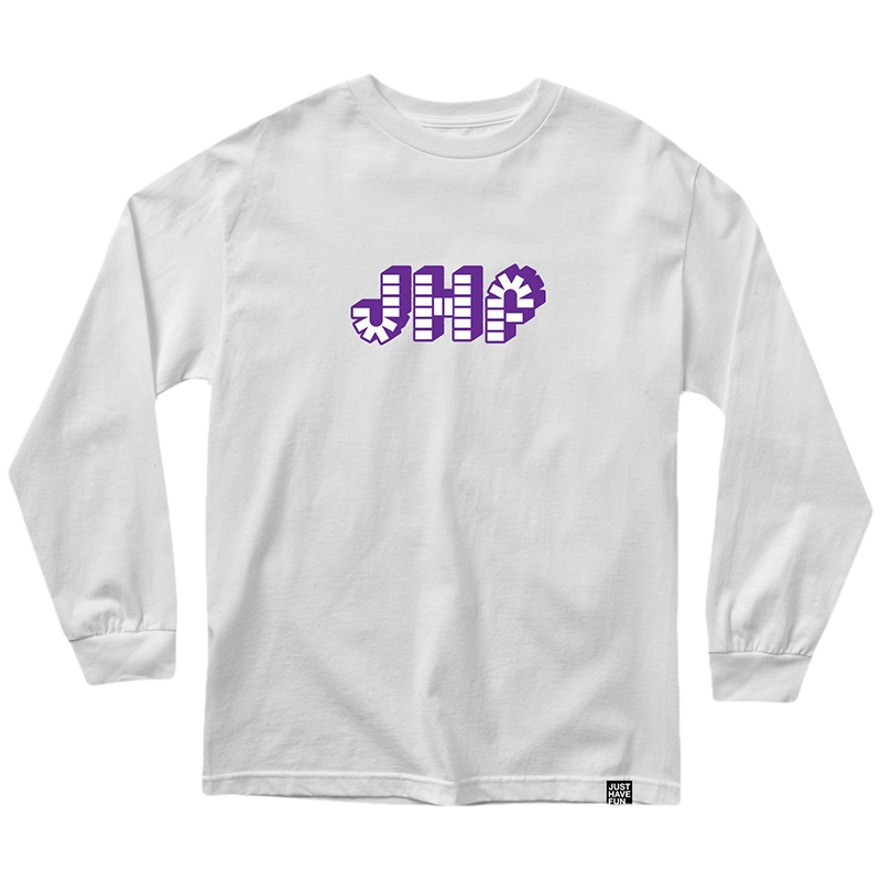 JHF Brick By Brick Longsleeve T-Shirt White